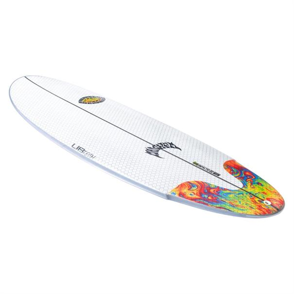 Lib Tech Lost Freak Flag Bean Bag Surfboard Wit dessin