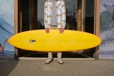 Mark Phipps One Bad Egg Special Finition Futures Surfboard
