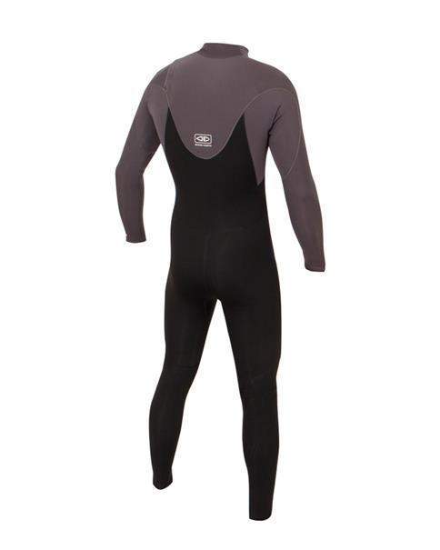 Ocean & Earth 3/2 mm Mens Free-Flex Chest Zip Steamer Wetsuit