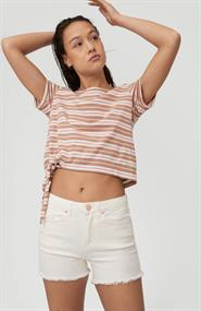ONeill STRIPED KNOTTED T-SHIRT