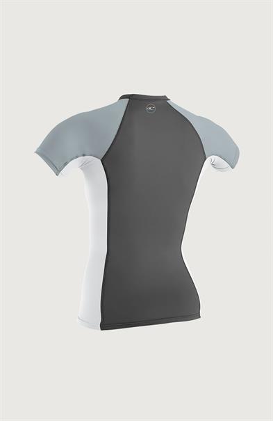 ONeill Wms Premium Skins S/S Rash Guard Grijs