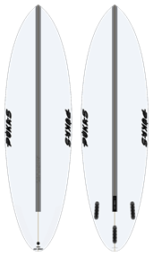 Pukas 69 Evolution PU Futures Surfboard