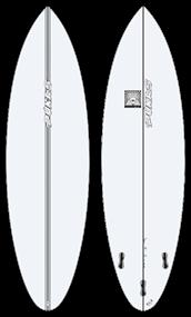 Pukas BUD PE FCS Surfboard