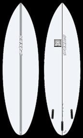 Pukas BUD PE FUT Surfboard