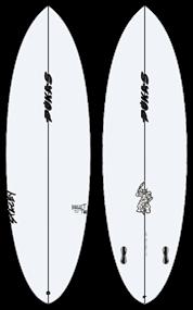 Pukas BULLET TWIN PU FCS Surfboard