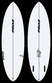 Pukas BULLETTWIN PU FUT Surfboard