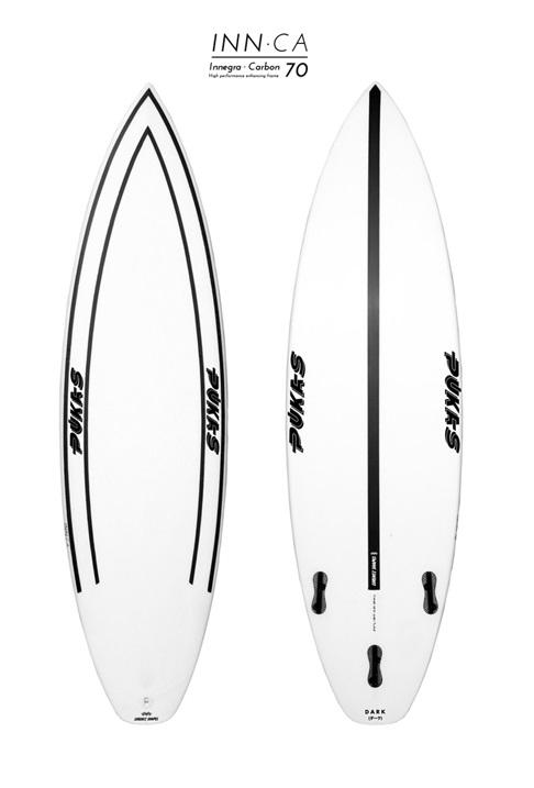 Pukas DARK INN CA FCS Surfboard