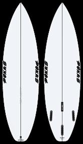 Pukas DARK PU Futures Surfboard