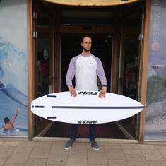 Pukas INN/CA RUSH Futures Surfboard