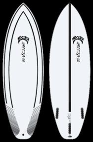 Pukas LAZYLINK INNCA FUT Surfboard