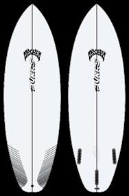 Pukas LAZYLINK PU FUT Surfboard