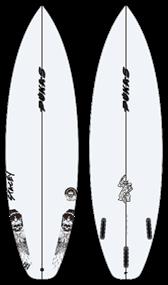 Pukas MACHINEHEAD PU FUT Surfboard