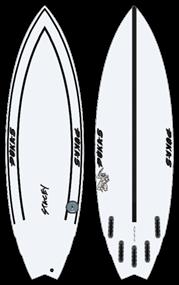 Pukas THE ROACH INNCA FUT Surfboard