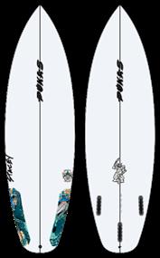 Pukas WAVESLAVE PU FUT Surfboard