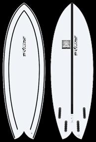 Pukas WOMBIFISH INNCA FUT Surfboard