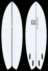 Pukas WOMBIFISH PE FUT Surfboard