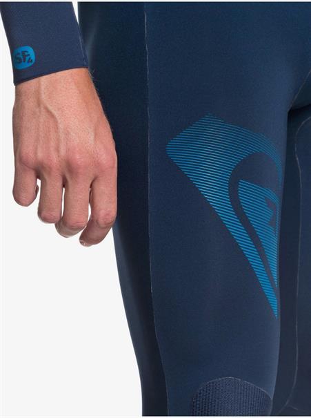 Quiksilver 3/2mm Highline Lite - Zipperless - Wetsuit Heren