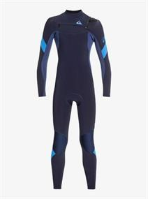 Quiksilver 3/2mm Syncro - Chest Zip Wetsuit for Boys 8-16
