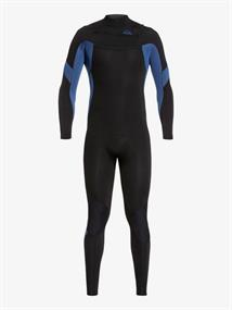 Quiksilver 4/3mm Syncro - Chest Zip Wetsuit for Men