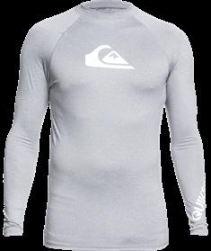 Quiksilver All Time - Rash Vest met Lange Mouw en UPF 50 voor Heren