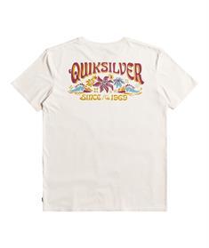 Quiksilver Baja Road - T-shirt voor Heren