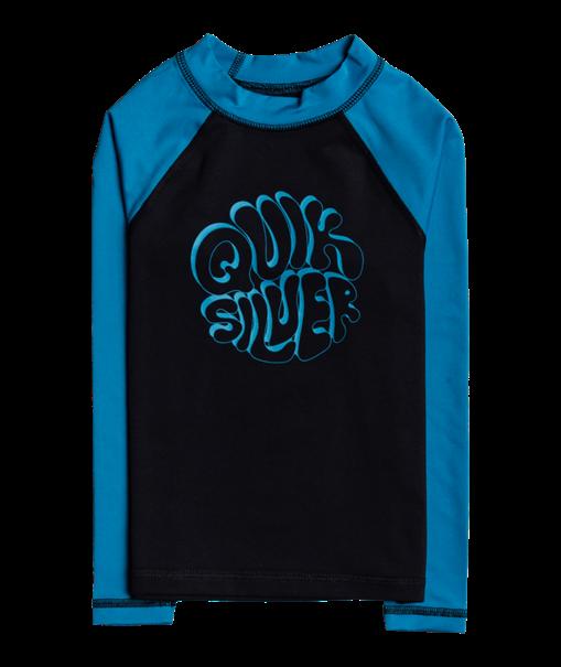 Quiksilver Bubble Trouble - Long Sleeve UPF Rash Vest for Boys 2-7