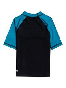 Quiksilver Bubble Trouble - Short Sleeve UPF 50 Rash Vest for Boys 2-7
