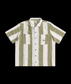 Quiksilver Destination Trip - Linen Short Sleeve Shirt for Women