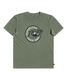 Quiksilver Into The Wide - Organic T-Shirt for Men