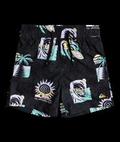 "Quiksilver Island Pulse 12"" - Swim Shorts for Boys 2-7"