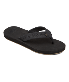 Quiksilver Left Coasta - Leather Sandals for Men