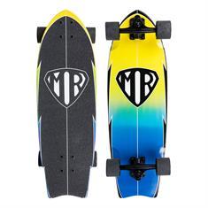 "Quiksilver Mark Richardson Retro cruiser skateboard 28"""