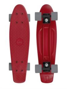 Quiksilver Red Earth Skateboard Rood