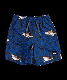 "Quiksilver Sharky 12"" - Swim Shorts for Boys 2-7"