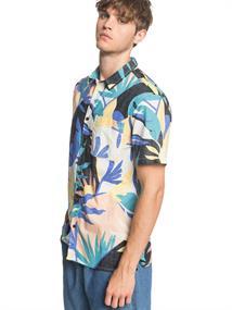 Quiksilver Tropical - Overhemd met Korte Mouw voor Heren Diverse tinten