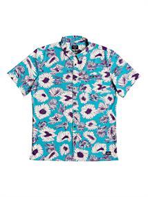 Quiksilver Warped - Overhemd met Korte Mouw voor Heren