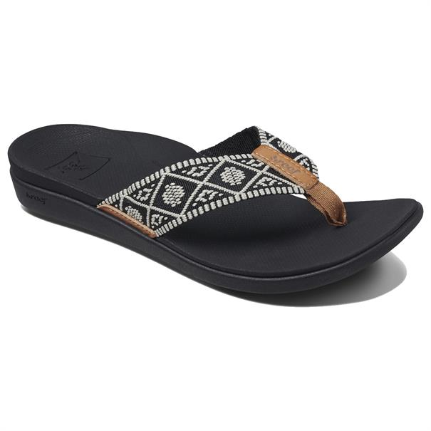 Reef REEF ORTHO-BOUNCE WOVEN BLACK/WHITE