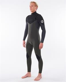 Rip Curl DAWN PATROL C/ZIP 43GB ST - Wetsuit Heren
