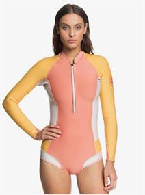 Roxy 1mm POP Surf - Shorty in Bikinimodel met Lange Mouw en Voorrits voor Dames Diverse tinten