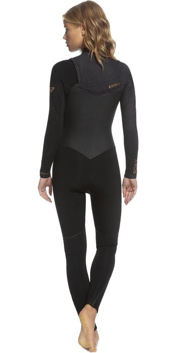 Roxy 4/3mm Performance - Chest Zip Wetsuit for Women - Wetsuit Dames