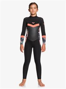 Roxy 4/3mm Syncro - Back Zip Wetsuit for Girls 8-16