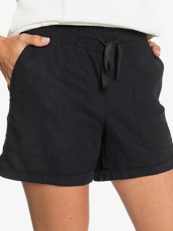 Roxy Another Kiss - Linen Shorts for Women