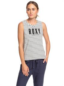 Roxy Are You Gonna Be My Friend - Mouwloos T-shirt voor Dames Grijs tinten