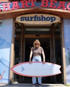 Roxy Fish PU Futures surfboard