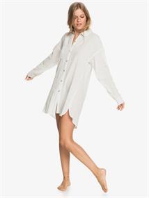 Roxy Good Surf Time - Beach Shirt Dress for Women