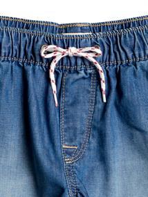 Roxy Honey Sunday - Elastische Denim Short voor Meisjes 4-16 Blauw tinten