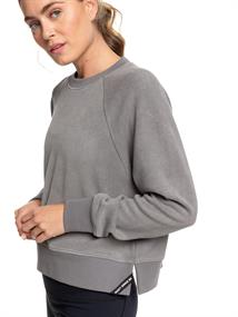 Roxy Instant Crush - Cropped Sportieve Sweater van Fleecestof voor Dames