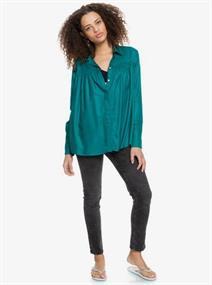 Roxy Make Today - Overhemd met Lange Mouw voor Dames