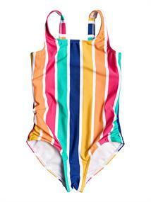 Roxy Maui Shade - Eendelig Badpak voor Meisjes 2-7 Blauw tinten