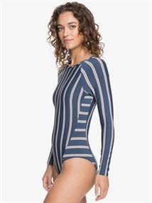 Roxy Moonlight Splash - Long Sleeve UPF 50 One-Piece Swimsuit for Women